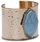 Louise et Cie Turquoise Stone Cuff