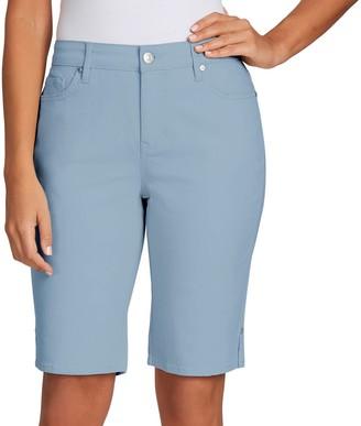 Gloria Vanderbilt Petite Bermuda Jean Shorts