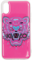 Kenzo Pink and Blue 3D Tiger Head iPhone X/Xs Case
