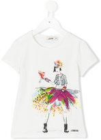 Junior Gaultier printed T-shirt - kids - Cotton/Spandex/Elastane - 10 yrs