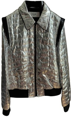 Celine Silver Polyester Jackets