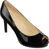 Liz Claiborne Ramona Peep-Toe Dress Pumps