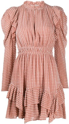 Ulla Johnson Textured Shirt Mini Dress