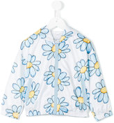 MonnaLisa floral print hooded jacket - kids - Polyester - 2 yrs