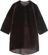 Pologeorgis The Solaris Brown Fur Jacket