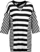 Y-3 + Adidas Originals Oversized Striped Cotton T-Shirt