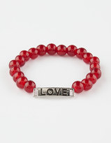 Full Tilt Love Beaded Bracelet