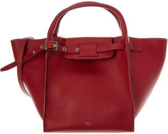 Celine Small Big Bag Leather Tote