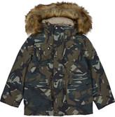 Molo Horizon camouflage print jacket 4-14 years