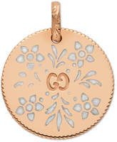 Gucci Icon charm in rose gold