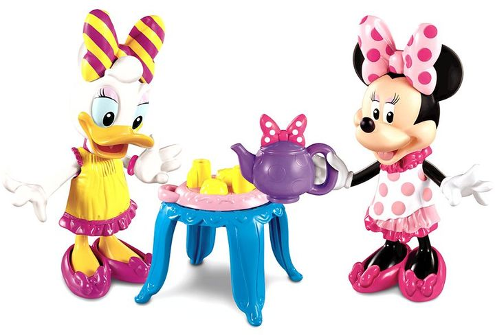 Fisher-Price Disney mickey mouse & friends minnie's bowtique tea party with daisy bowtique