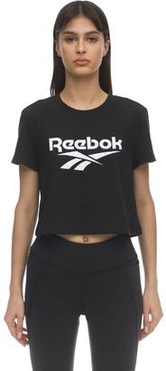 Reebok Classics Cl F Big Logo Cotton Jersey T-shirt