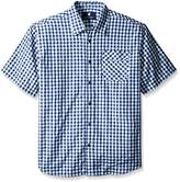 Rocawear Men's Big and Tall Temple Short Sleeve Shirt