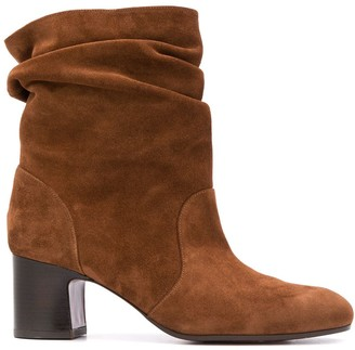 Chie Mihara Slouchy Suede Boots