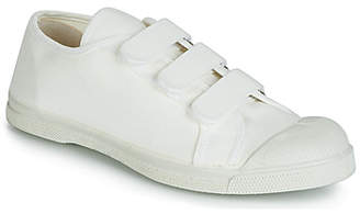 Bensimon TENNIS SCRATCH women's Shoes (Trainers) in White