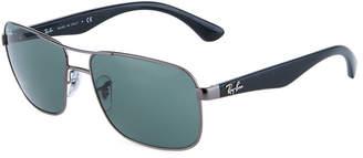 Ray-Ban Acetate/Metal Aviator Sunglasses