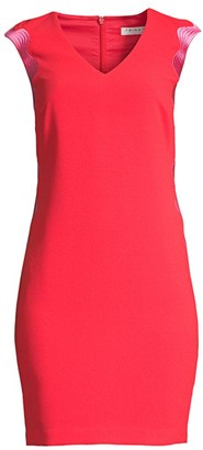 Trina Turk Enjoyable Sheath Dress