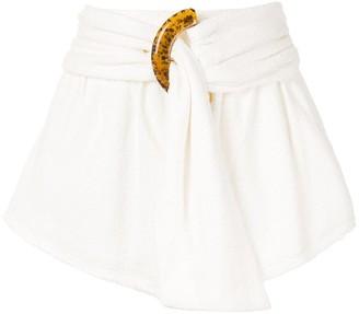 Bec & Bridge Ollie belted shorts