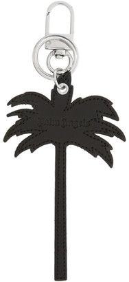 Palm Angels Black Palm Tree Keychain