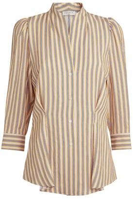 Sandro Paris Striped Tunic Shirt
