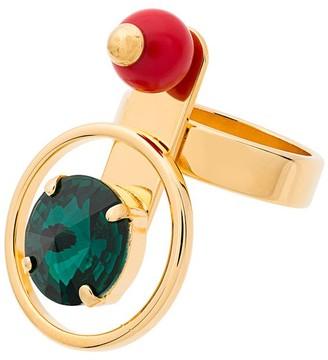 Marni Multi Orb Stone and Metal Ring