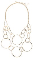 Topshop Women's Circle Link Statement Necklace