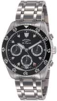 Rotary Watches Men's Legacy Dive Dial Stainless Steel Bracelet Watch GB90170/04