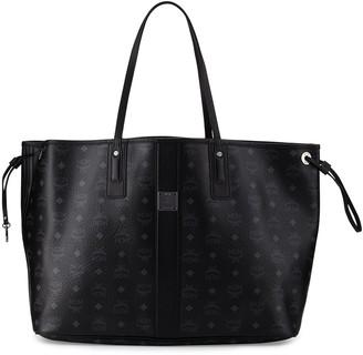 MCM Liz Large Reversible Visetos Shopper Tote Bag