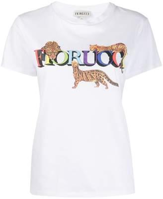 Fiorucci Cheetah relaxed-fit T-shirt