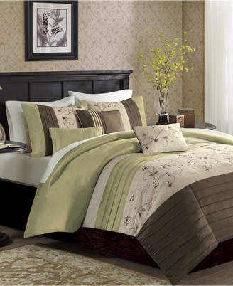 Madison Home USA Serene 6-Pc. King/California King Duvet Cover Set Bedding