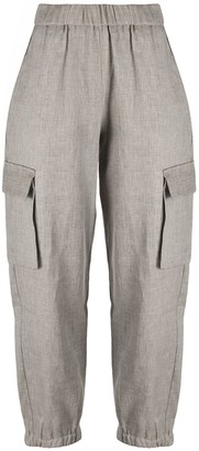 Semi-Couture Side Pockets Trousers