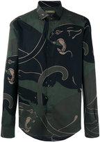 Valentino panther print shirt - men - Cotton - 39