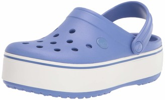 Crocs unisex adult Men's and Women's Crocband Platform | Comfortable Fashion Shoe Clog