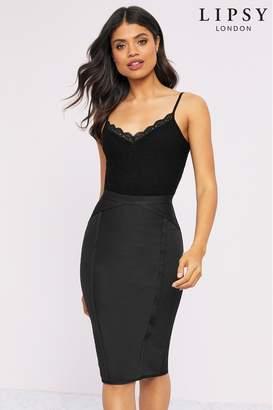 Lipsy Bandage Skirt - 6 - Black