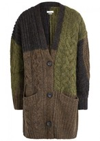 Etoile Isabel Marant Dailon Cable-knit Wool Blend Cardigan