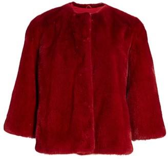 The Fur Salon Julia & Stella For Three-Quarter Sleeve Mink Fur Jacket