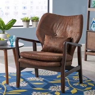 Christopher Knight Home Haddie Mid Century Modern Club Chair