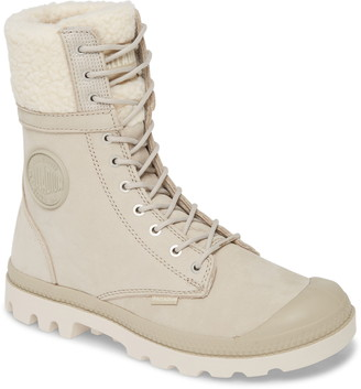 Palladium Baggy Pilot Faux Shearling Lined Boot