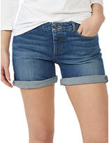 Fat Face Mini Denim Shorts, Mid Denim