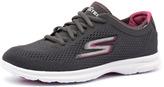 Skechers Go Step Sport Charcoal/Hot Pink