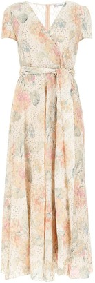 RED Valentino Floral Wrapped Maxi Dress