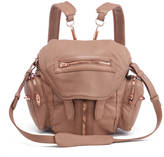Alexander Wang Women's Mini Marti Latte Washed Leather Backpack Latte