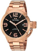 TW Steel Men's CB171 Analog Display Quartz Rose Gold Watch