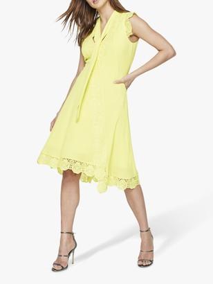 Damsel in a Dress Calinda Lace Dress, Yellow