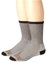 Timberland TPS31408 Crew 2-Pair Pack Men's Crew Cut Socks Shoes