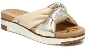 Sam Edelman Women's Agatha Puffy Knot Sport Slides Women's Shoes