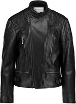 Amanda Wakeley Onishi textured-leather jacket
