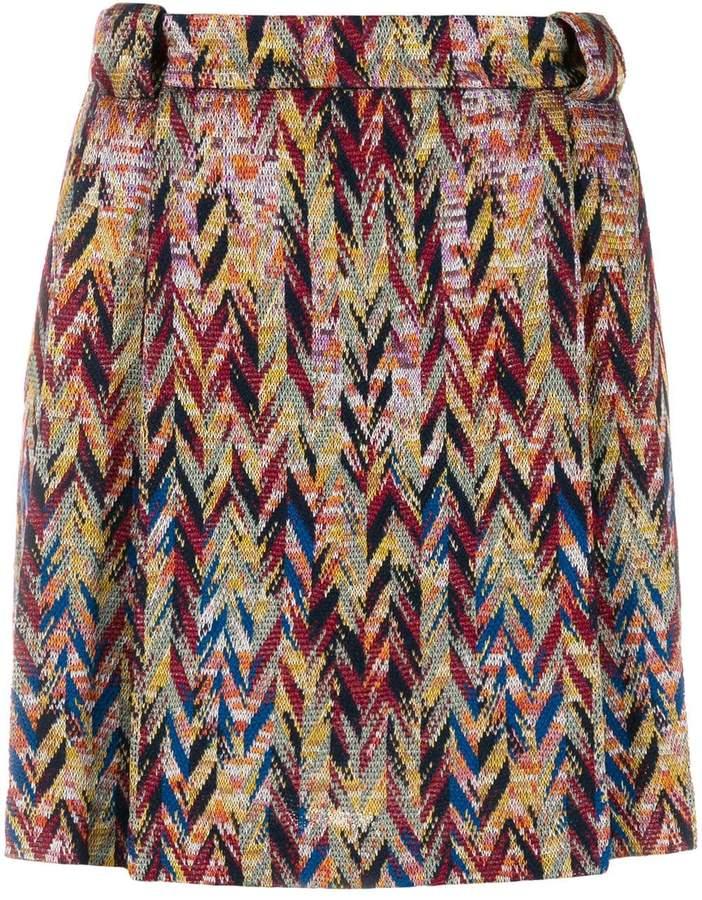 Missoni zigzag mini-skirt