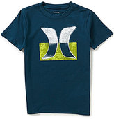 Hurley Big Boys 8-20 Overspray Short-Sleeve Tee