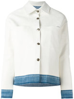 Golden Goose Deluxe Brand Bernhardt jacket - women - Cotton/Calf Leather - S